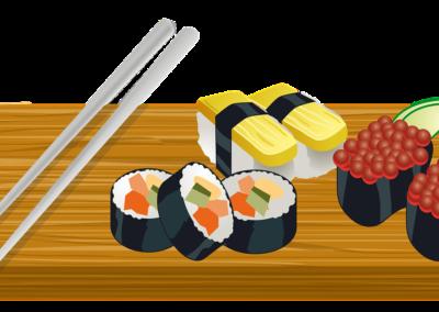 Dětský kurz Sushi