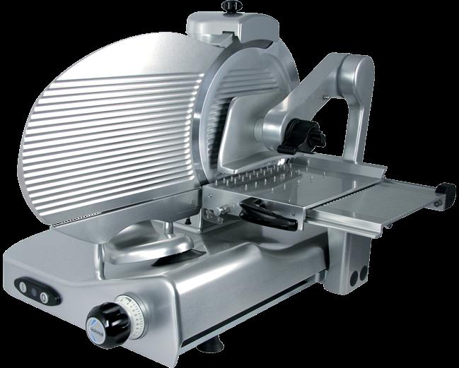 MANCONI 350 VKBV Dual ruční nářezový stroj